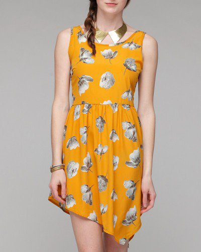 Spring Unbalanced Dress