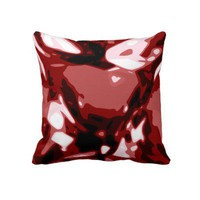 Giant Jewel pillow - Red Ruby gemstone