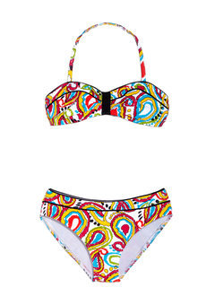 ideeli | KC PARKER Girls' 2-Piece Paisley Swimsuit (7-16)