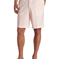 Haggar Men`s Cool 18 Plain Front Seersucker Short