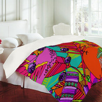 DENY Designs Home Accessories | Aimee St Hill Gems And Birds Duvet Cover