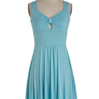 Park Regular Dress in Aqua | Mod Retro Vintage Dresses | ModCloth.com