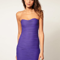 ASOS Mini Strapless Dress with Sweetheart Neckline