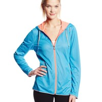 Reebok Women's Essentials Mesh Full Zip Top