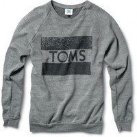 Apparel  Accessories - Classics TOMS Crew Neck Sweatshirt | TOMS.com