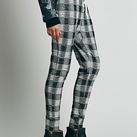 Intimately Womens Checkered Jogger - Black Combo,