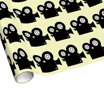 MOVIE CAMERA Wrapping Paper