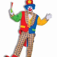 Men&#x27;s Clown On The Town Costume