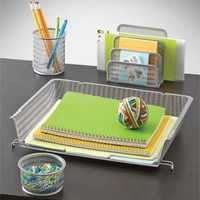 Mesh Desk Organizer 4-Piece Set