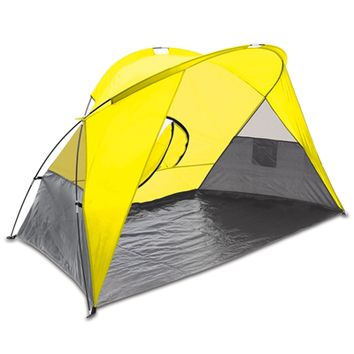 SheilaShrubs.com: Cove Sun Shelter - Yellow 112-00-181-000-0 by Picnic Time : Camping Tents & Shelters