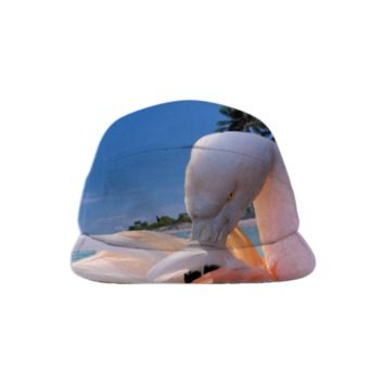 Pink Flamingo Baseball Hat created by ErikaKaisersot | Print All Over Me