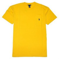 Polo Ralph Lauren Men Crewneck Front Pocket Pony Logo T-shirt