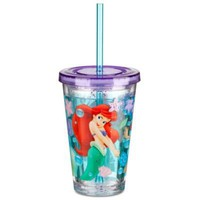 The Little Mermaid Ariel Tumbler With Straw -- Small | Tumblers | Disney Store