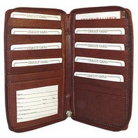 Genuine Leather Multipurpose Credit Card Holder Wallet Available in Different Colors
