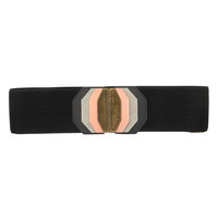 mixed metal stacked stretch belt