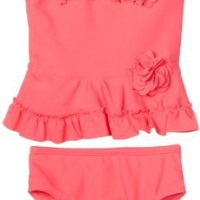 Little Me Baby-girls Infant Rose 2 Piece Swimsuit