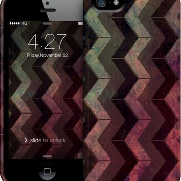 ZigZag background iPhone Cases & Skins by VanessaGF | Nuvango