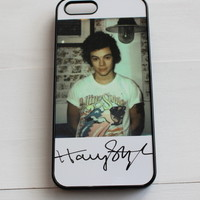 Harry Styles Grunge Signature Phone Case