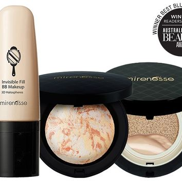 *SP Supreme Complexion 10 Collagen Invisible Fill Marble Blush Trio - Mirenesse