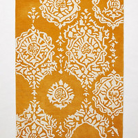 Mariella Rug by Anthropologie Gold
