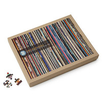 A VINYL COLLECTION PUZZLE | jig-saw puzzle, photo, made in USA | UncommonGoods