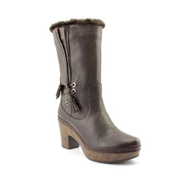 Stuart Weitzman Women's 'Wooly' Leather Boots