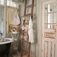 Lovely, pretty, cozy, shabby-chic corner
