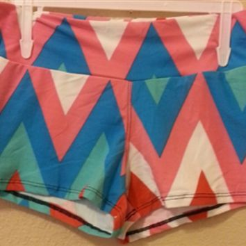 Chevron Body Shorts