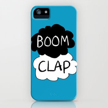 Boom Clap (sound of my heart - TFIOS) iPhone & iPod Case by Tangerine-Tane