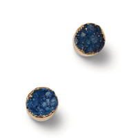 Druzy Stone Gold Plated Earrings | TOMS