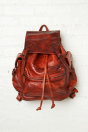 Old Trend Moto Distressed Backpack