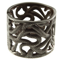 "30% off use promo code ""wanelo"" at checkout. Mother-effin Snakes Bracelet"