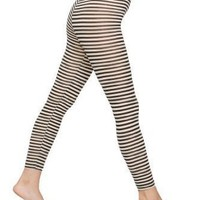 American Apparel Printed Cotton Spandex Jersey Legging