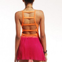 Ladder Back Jersey Bodysuit by ShopAKIRA | Jersey Bodysuit | ShopAKIRA.com