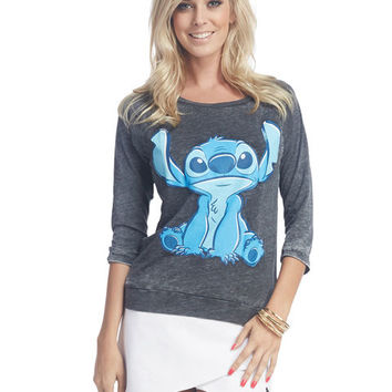 Lilo and Stitch™ Burnout Tee   Wet Seal