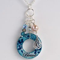 "Blue ""Blessed"" Super Charm 