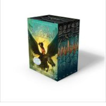 Percy Jackson and the Olympians 5 Book Paperback Boxed Set (New Covers W/Poster) : Rick Riordan, John Rocco, No New Art Needed : 9781484707234