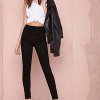 Nasty Gal Denim – The Kink in Sabbath Black