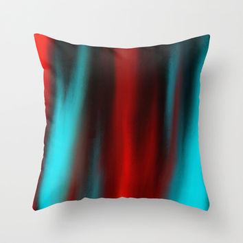 Obsession Throw Pillow by Sanja Amic