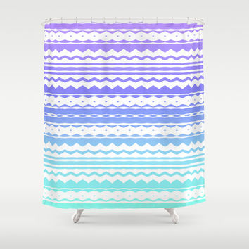 Mix #585 Shower Curtain by Ornaart