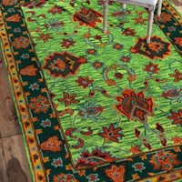 Rugs USA Overdye RE21 Green Rug
