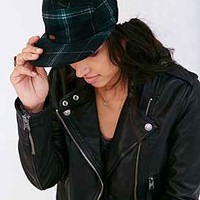 Stussy X UO Sherpa Plaid Cap - Urban Outfitters