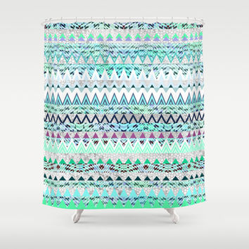 Mix #535 Shower Curtain by Ornaart