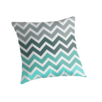 Tiffany Fade Chevron Zigzag Pattern