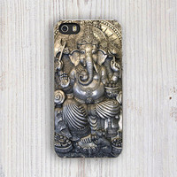 Lord Ganesha iPhone 5 case, Boho iPhone 5S Case, Ancient iPhone 4 Case, Hindu God iPhone 4S, Indian iPhone 5C case, Elephant iPhone Case