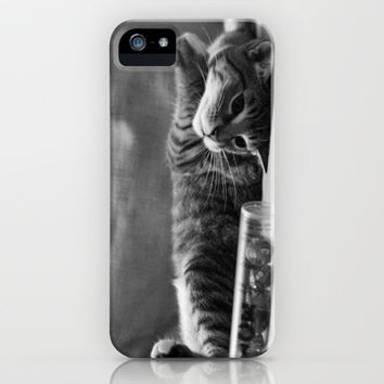 Kitty is Less Than Three Dice iPhone & iPod Case by Legends of Darkness Photography
