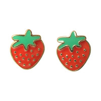 LOVEsick Strawberry Earrings