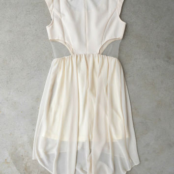.Ivory Aspirations Dress [5979] - $42.00 : Vintage Inspired Clothing & Affordable Dresses, deloom | Modern. Vintage. Crafted.