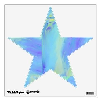Blue Abstract sky Star Wall Decal