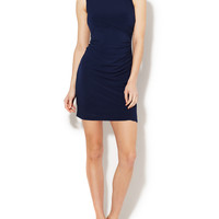 Rouched Cut-Out Dress